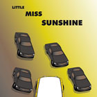 Little Miss Sunshine, Diseño Gráfico de Afiche comic